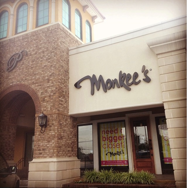 Monkee's of Johnson City storefront in the Peerless Center
